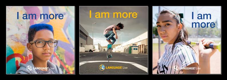 LANGUAGE! Live Ads
